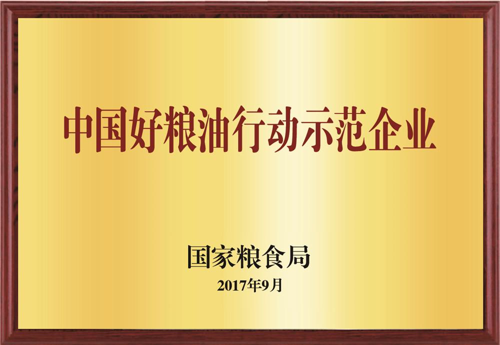 中国好竞技宝app下载行动示范企业