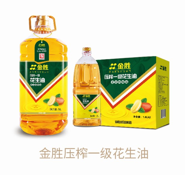 Jinsheng pressed first-grade peanut oil